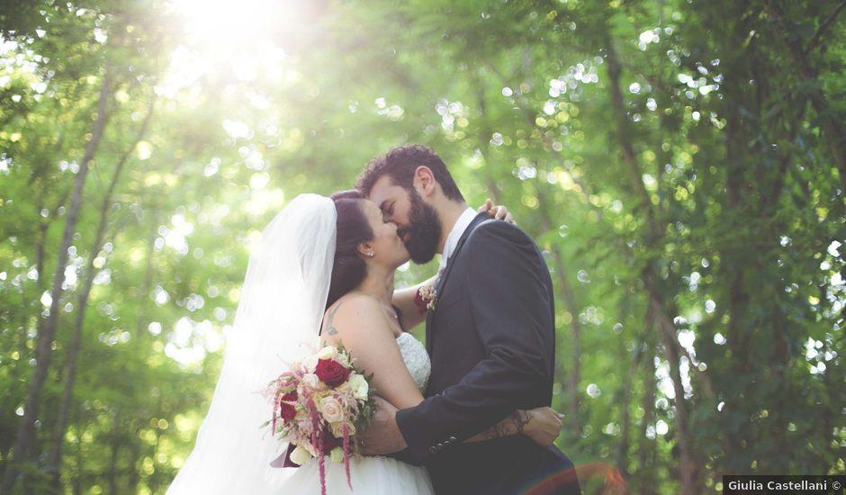 Il matrimonio di Davide e Nisia a Brisighella, Ravenna