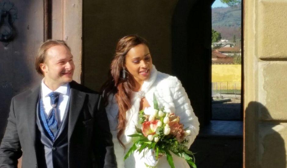 Il matrimonio di Federico Baldi e Daritza Luque Macias  a Pistoia, Pistoia