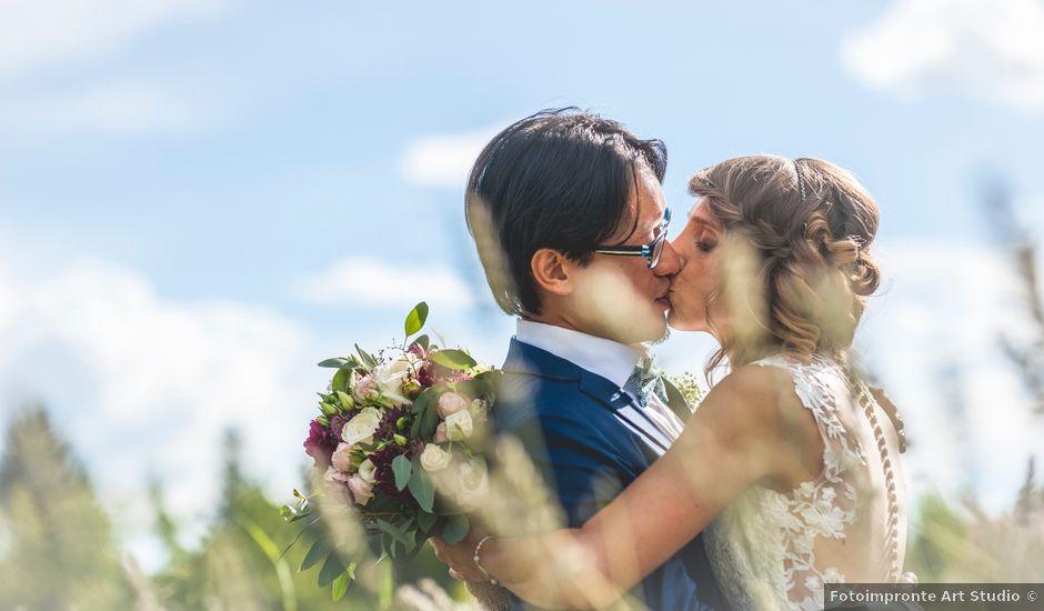 Il matrimonio di Fred e Micaela a Buttrio, Udine