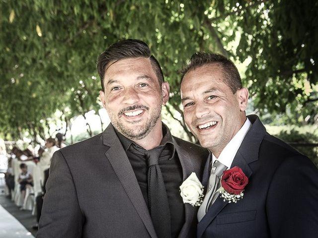 Il matrimonio di Massimo e Yadira a Rovato, Brescia 32