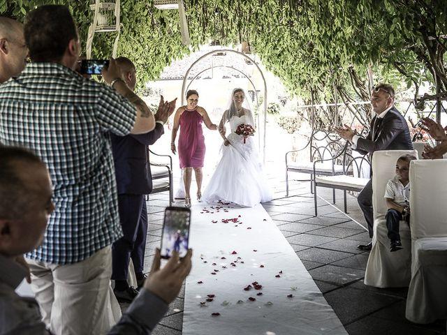 Il matrimonio di Massimo e Yadira a Rovato, Brescia 35