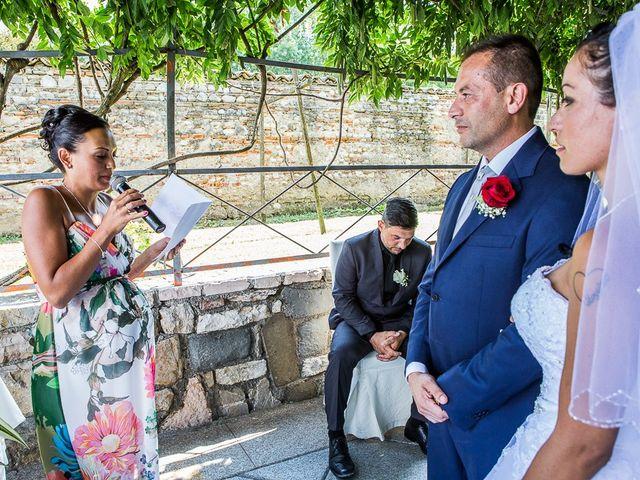 Il matrimonio di Massimo e Yadira a Rovato, Brescia 54