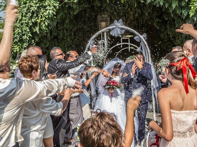 Il matrimonio di Massimo e Yadira a Rovato, Brescia 62