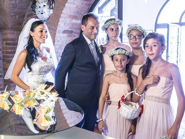 Il matrimonio di Massimo e Yadira a Rovato, Brescia 64