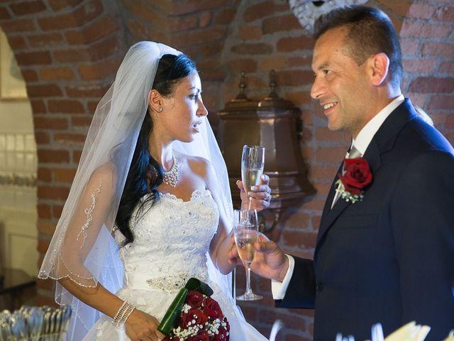 Il matrimonio di Massimo e Yadira a Rovato, Brescia 65