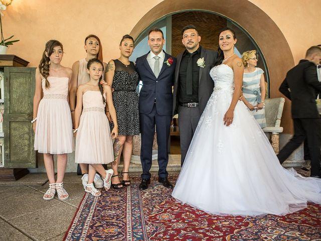 Il matrimonio di Massimo e Yadira a Rovato, Brescia 72