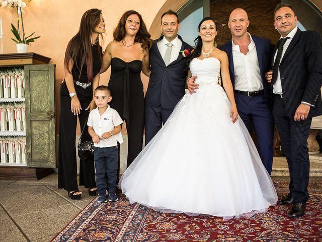 Il matrimonio di Massimo e Yadira a Rovato, Brescia 78