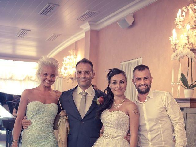 Il matrimonio di Massimo e Yadira a Rovato, Brescia 89