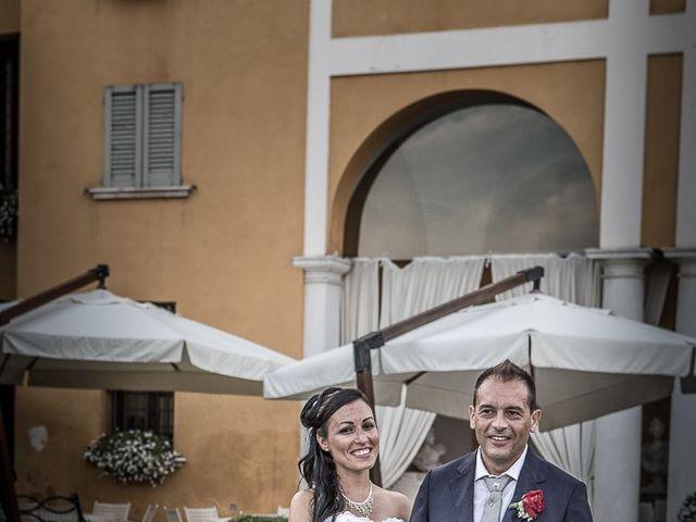 Il matrimonio di Massimo e Yadira a Rovato, Brescia 123