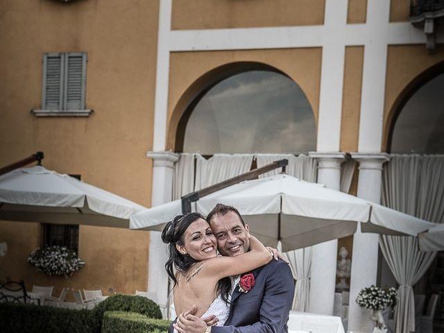Il matrimonio di Massimo e Yadira a Rovato, Brescia 125