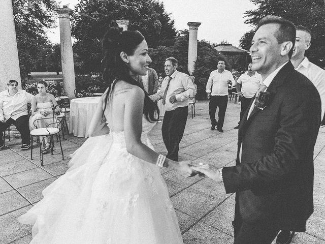 Il matrimonio di Massimo e Yadira a Rovato, Brescia 135
