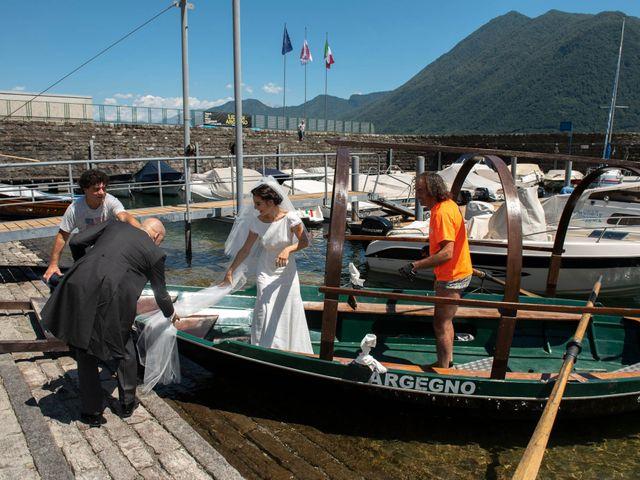 Il matrimonio di Federico e Ludovica a Erba, Como 57