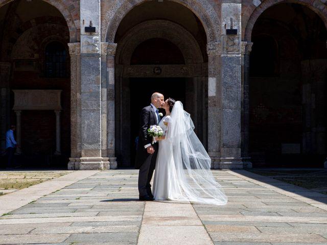 Il matrimonio di Federico e Ludovica a Erba, Como 81