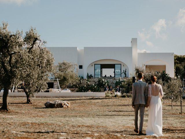 Il matrimonio di Maxime e Katrien a Ostuni, Brindisi 40