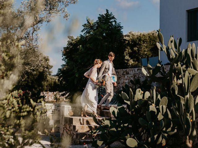 Il matrimonio di Maxime e Katrien a Ostuni, Brindisi 41