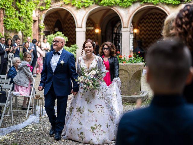 Il matrimonio di Marco e Deborah a Sartirana Lomellina, Pavia 22