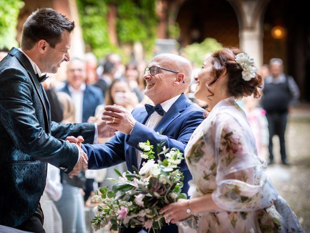 Il matrimonio di Marco e Deborah a Sartirana Lomellina, Pavia 24
