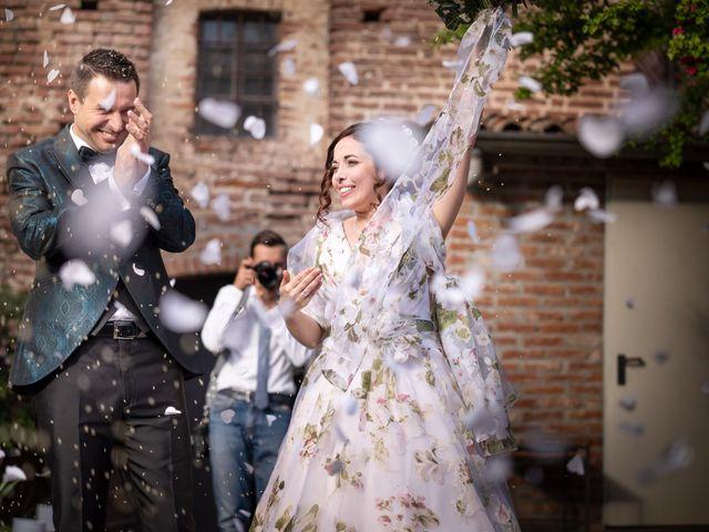 Il matrimonio di Marco e Deborah a Sartirana Lomellina, Pavia 31