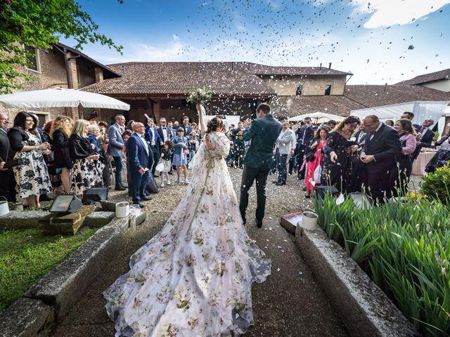 Il matrimonio di Marco e Deborah a Sartirana Lomellina, Pavia 32