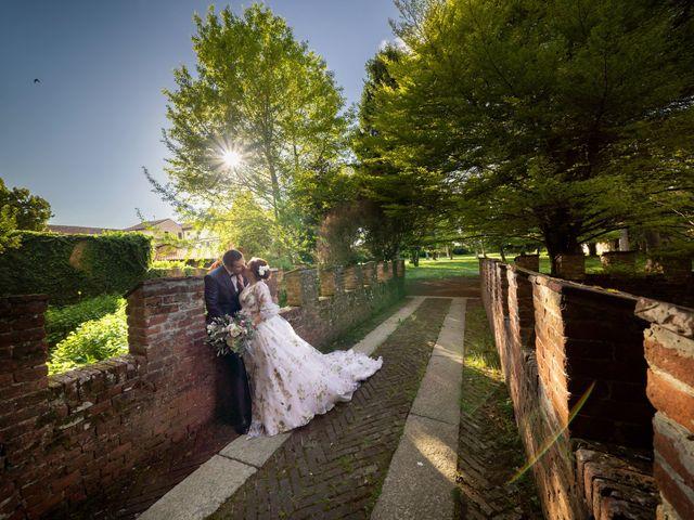 Il matrimonio di Marco e Deborah a Sartirana Lomellina, Pavia 38