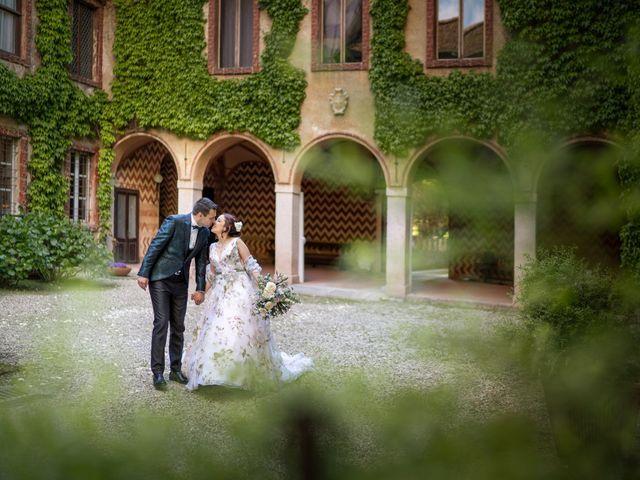 Il matrimonio di Marco e Deborah a Sartirana Lomellina, Pavia 41