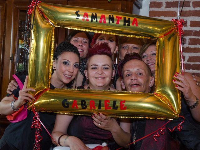 Il matrimonio di Gabriele e Samantha a Volvera, Torino 46