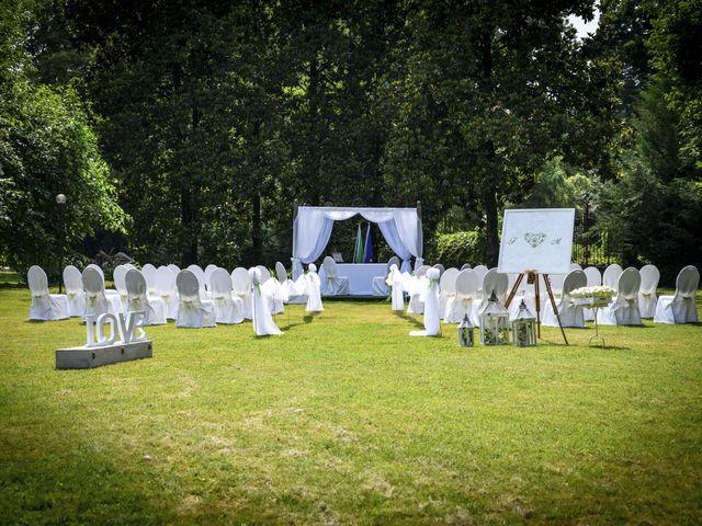 Il matrimonio di Fabio e Marica a Cassano d'Adda, Milano 1