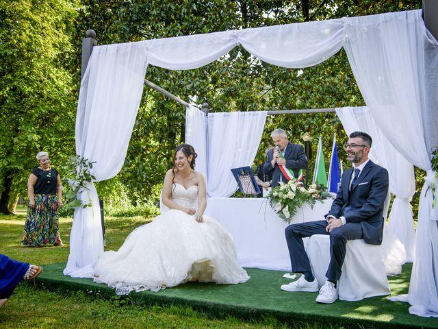 Il matrimonio di Fabio e Marica a Cassano d'Adda, Milano 38