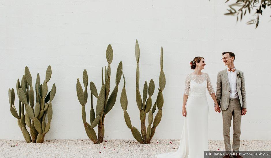Il matrimonio di Maxime e Katrien a Ostuni, Brindisi