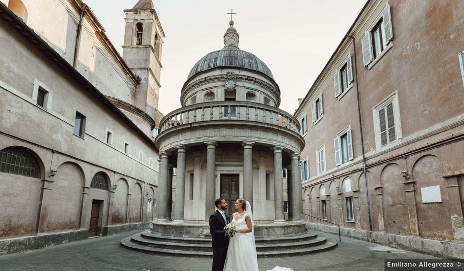 Il matrimonio di Antonio e Marina a Roma, Roma