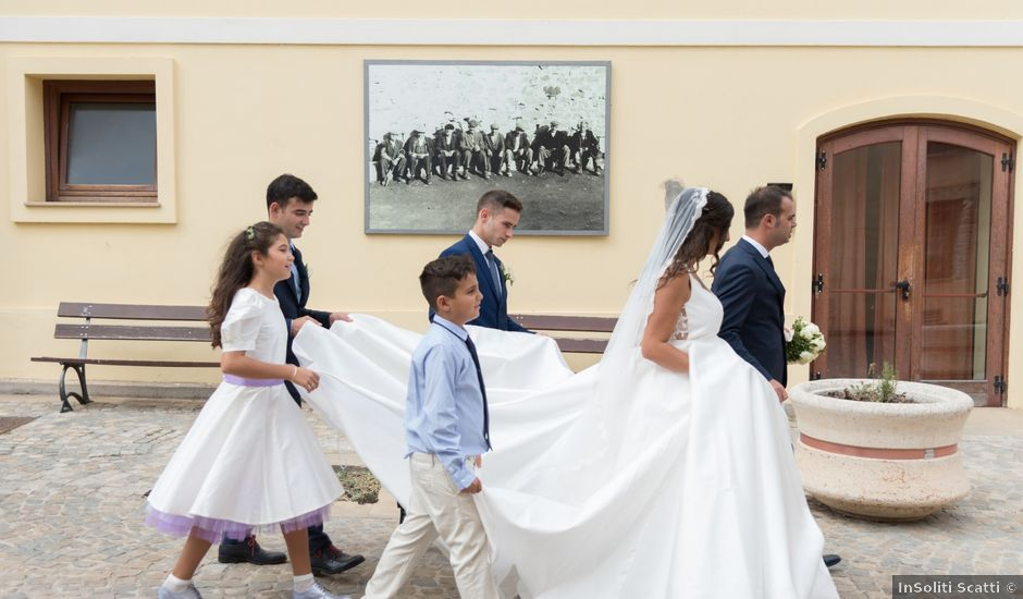 Il matrimonio di Enrico e Marta a Suelli, Cagliari