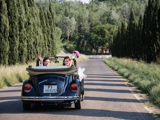 Il matrimonio di Ivan e Valeria a Montaione, Firenze 17