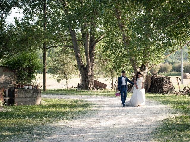 Il matrimonio di Ivan e Valeria a Montaione, Firenze 27
