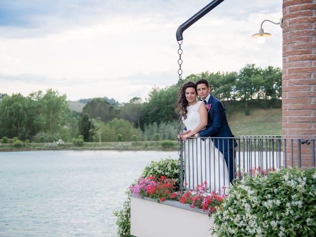 Il matrimonio di Ivan e Valeria a Montaione, Firenze 40