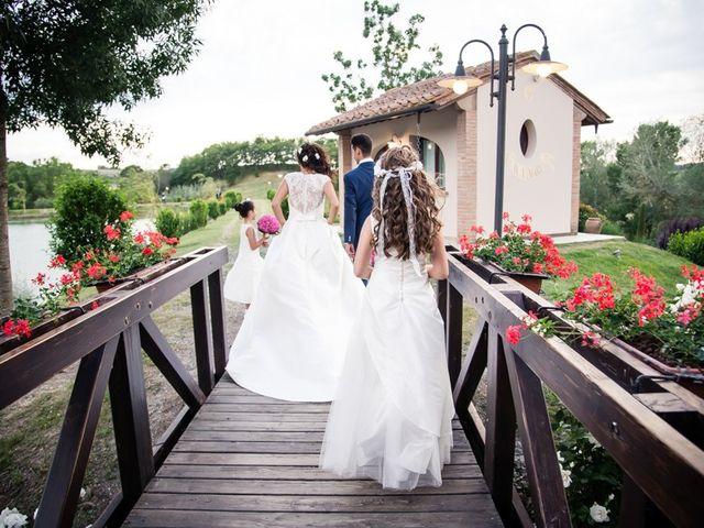 Il matrimonio di Ivan e Valeria a Montaione, Firenze 41