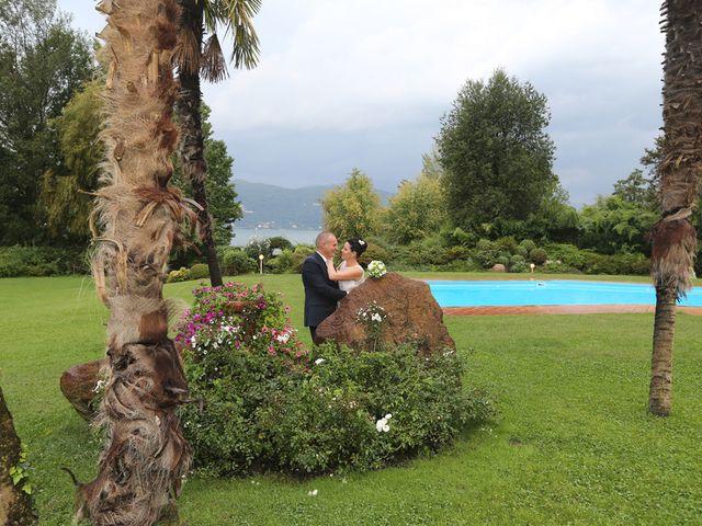 Il matrimonio di Davide e Elona a Angera, Varese 24