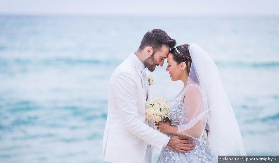 Il matrimonio di Andrea e Beatrice a Castiadas, Cagliari