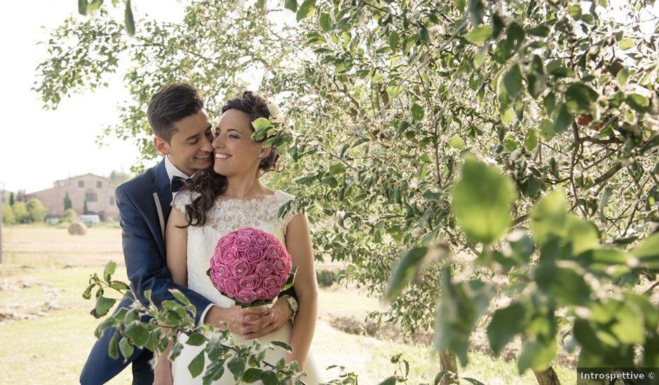 Il matrimonio di Ivan e Valeria a Montaione, Firenze