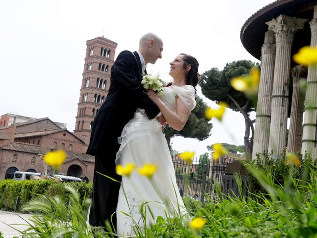 Il matrimonio di Stefano e Sara a Roma, Roma 11