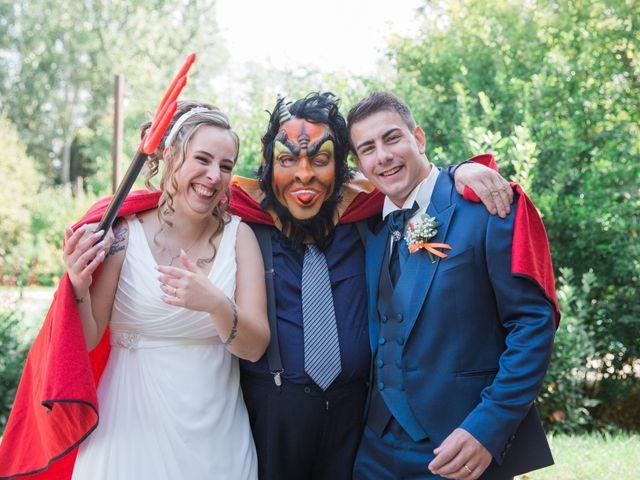 Il matrimonio di Luca e Marianna a Monte San Pietro, Bologna 43