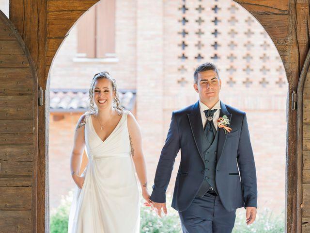Il matrimonio di Luca e Marianna a Monte San Pietro, Bologna 45