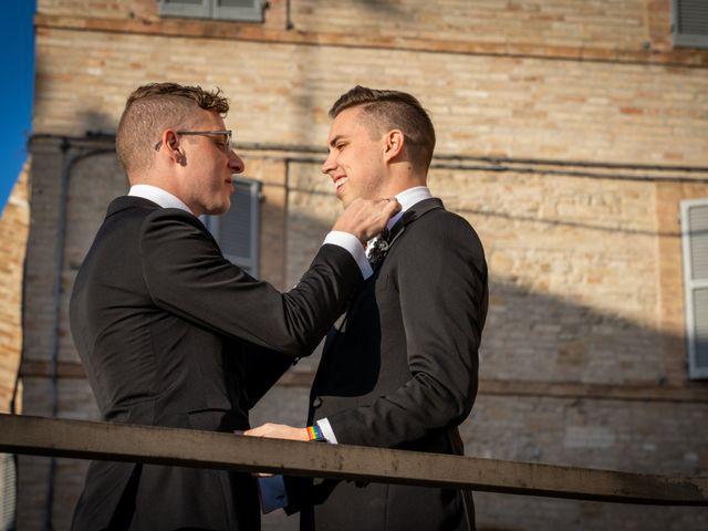 Il matrimonio di John e Jacob a Petritoli, Fermo 10