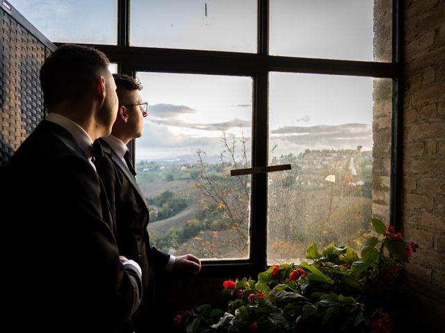 Il matrimonio di John e Jacob a Petritoli, Fermo 34