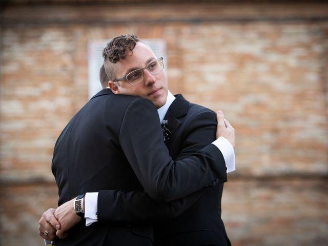 Il matrimonio di John e Jacob a Petritoli, Fermo 42