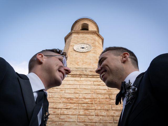 Il matrimonio di John e Jacob a Petritoli, Fermo 43