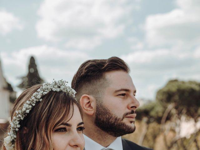 Il matrimonio di Francesco e Giulia a Grottaferrata, Roma 1