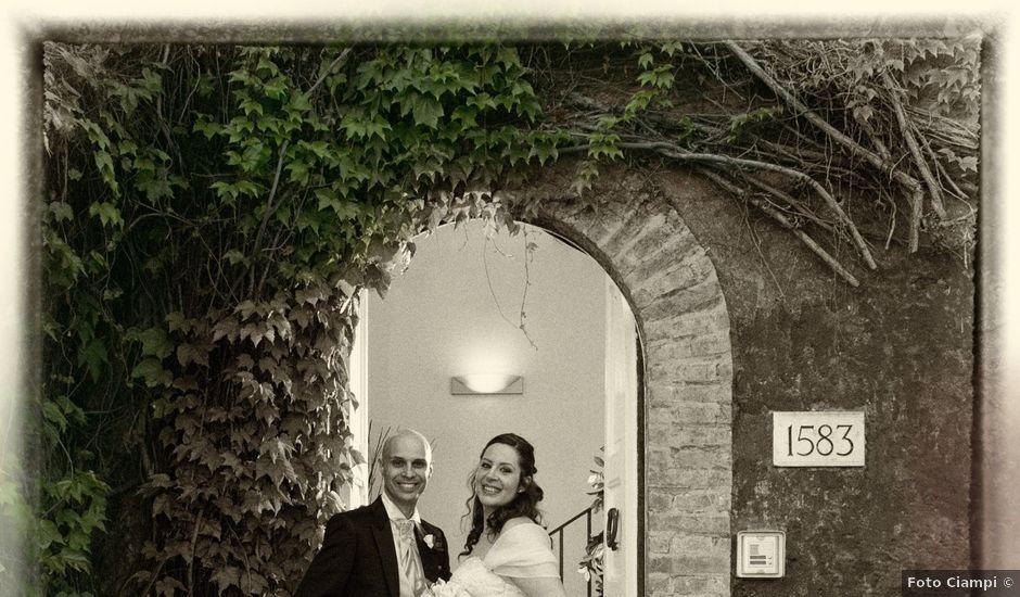 Il matrimonio di Stefano e Sara a Roma, Roma