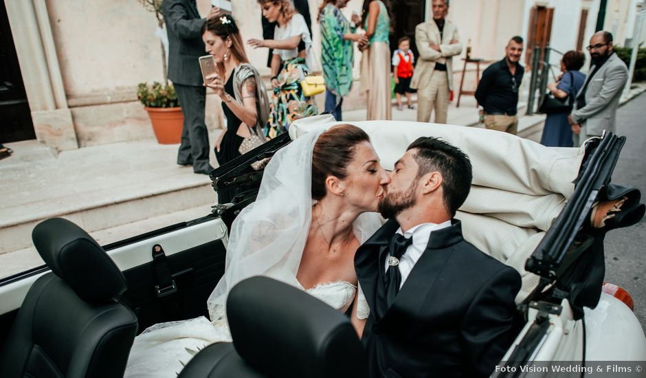 Il matrimonio di Dario e Cristina a Lecce, Lecce