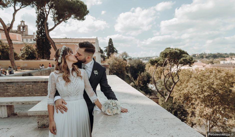 Il matrimonio di Francesco e Giulia a Grottaferrata, Roma