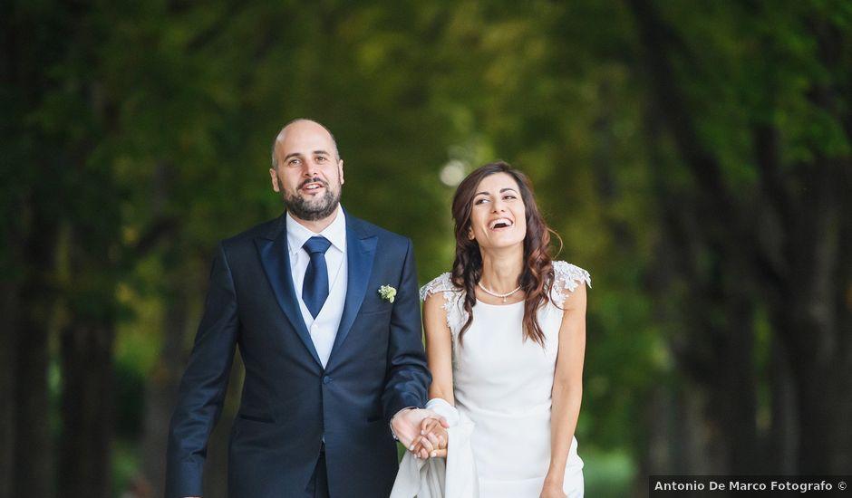Il matrimonio di Carmine e Monica a Lacedonia, Avellino